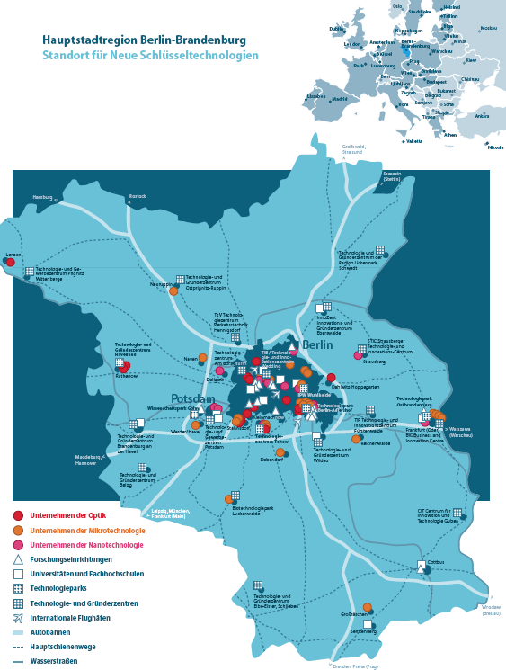 Dia 4  Location of innovative techno parks