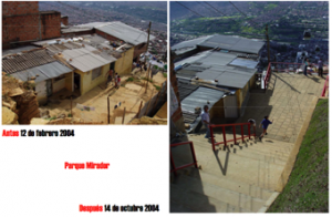 Dia before and after, self-improvement with municipal assistance