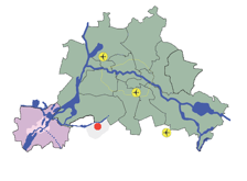 Dia 6 Location of regenerated Teltow